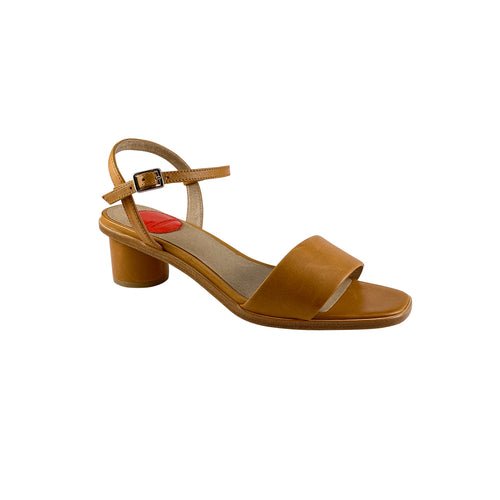 Zoe Kratzmann Retort Amber Leather Low Heel