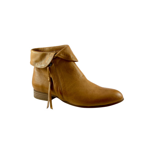 Django & Juliette Firman Dark Tan Leather Boot