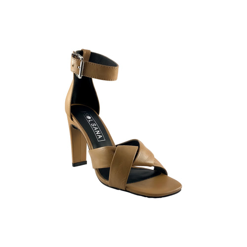 Sol Sana Tallulah Tan Leather Heel
