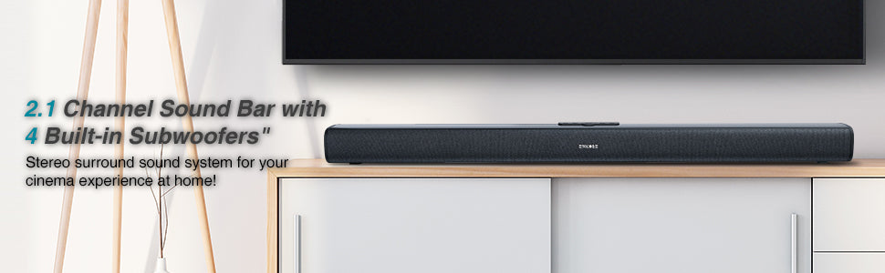 Sakobs 2.1channel soundbar