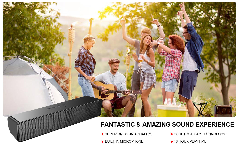 outdoor audio connections speaker