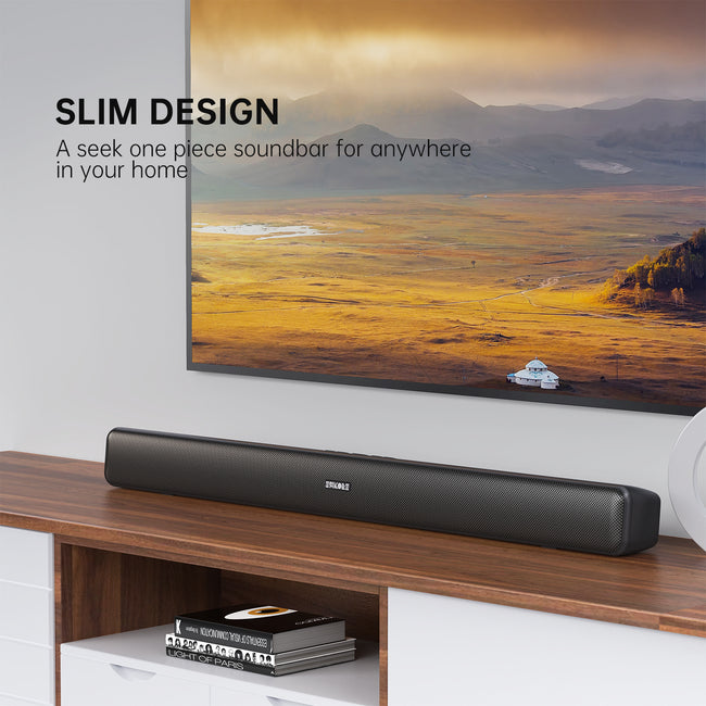 29 Inch Sound Bar, 40W 80 dB Stereo Surround Sound System