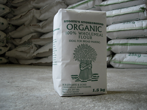 Stoate's Stoneground Organic 100% Wholemeal Flour 1.5kg