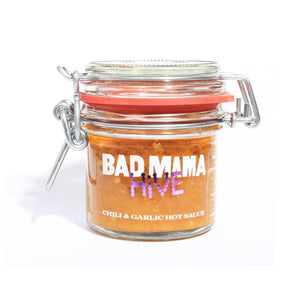 Bad Mama Hive Chili & Garlic Hot Sauce