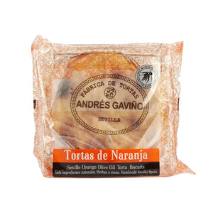 Gaviño Orange Olive Oil Biscuits 180g