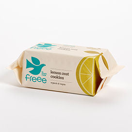 Freee by Doves Farm Gluten Free Organic Lemon Zest Cookies 150g