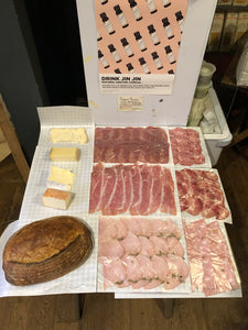 Sliced Meats, Cheese & Sourdough Loaf Hamper (48 Hours Notice Needed)