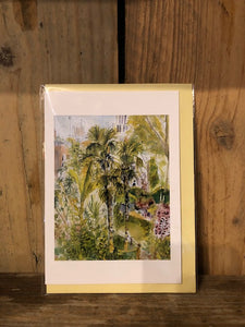Bonnington Square Gardens Card by Mary Pierce