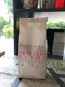 Coleman Coffee Espresso Blend Ground For Stovetop 250g