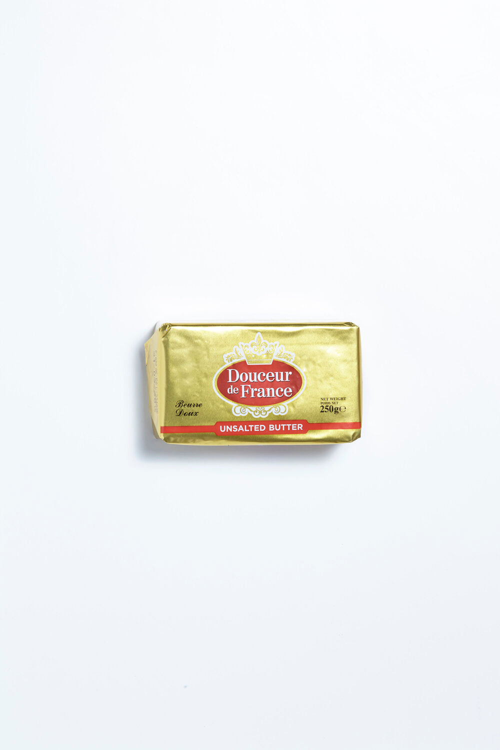 Douceur de France Unsalted Butter 250g