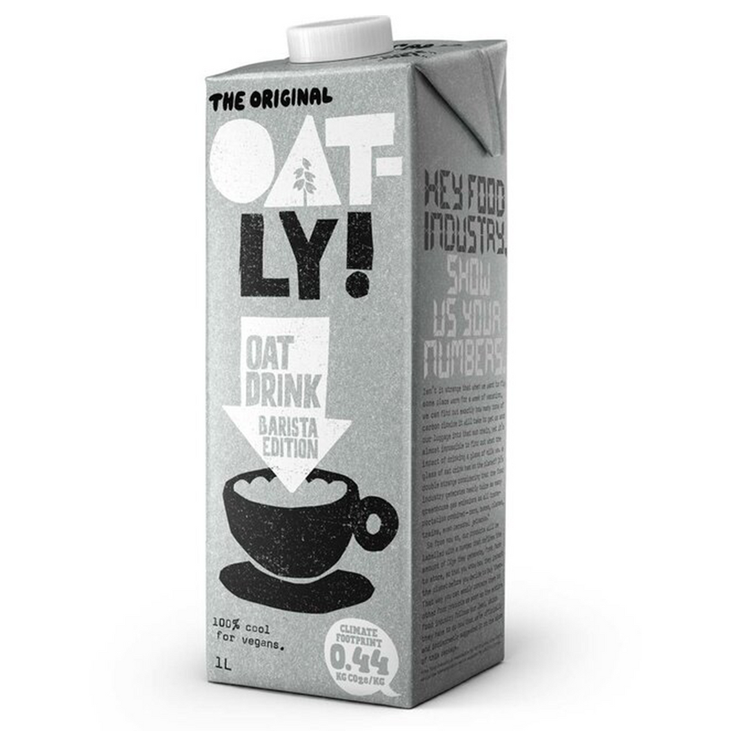 Oatly Oat Drink Barista Edition 1L
