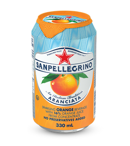 S.Pellegrino Aranciata 330ml Can