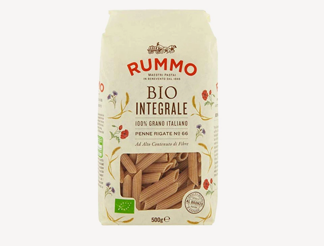 Rummo Organic Wholemeal Penne Rigate 500g