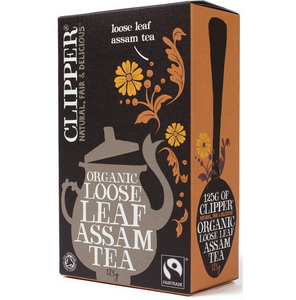 Clipper Fairtrade Organic Assam Tea Loose Leaf 125g