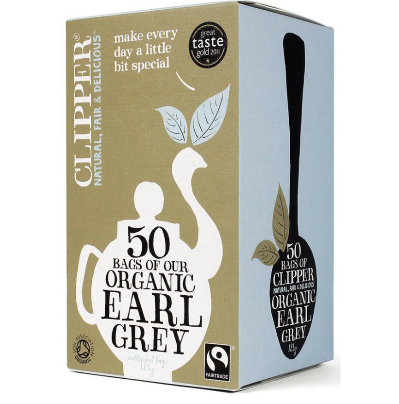 Clipper Fairtrade Organic Earl Grey Tea 50 Bags