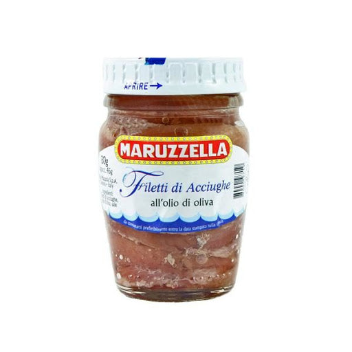 Maruzzella Anchovy Fillets in Olive Oil 80g