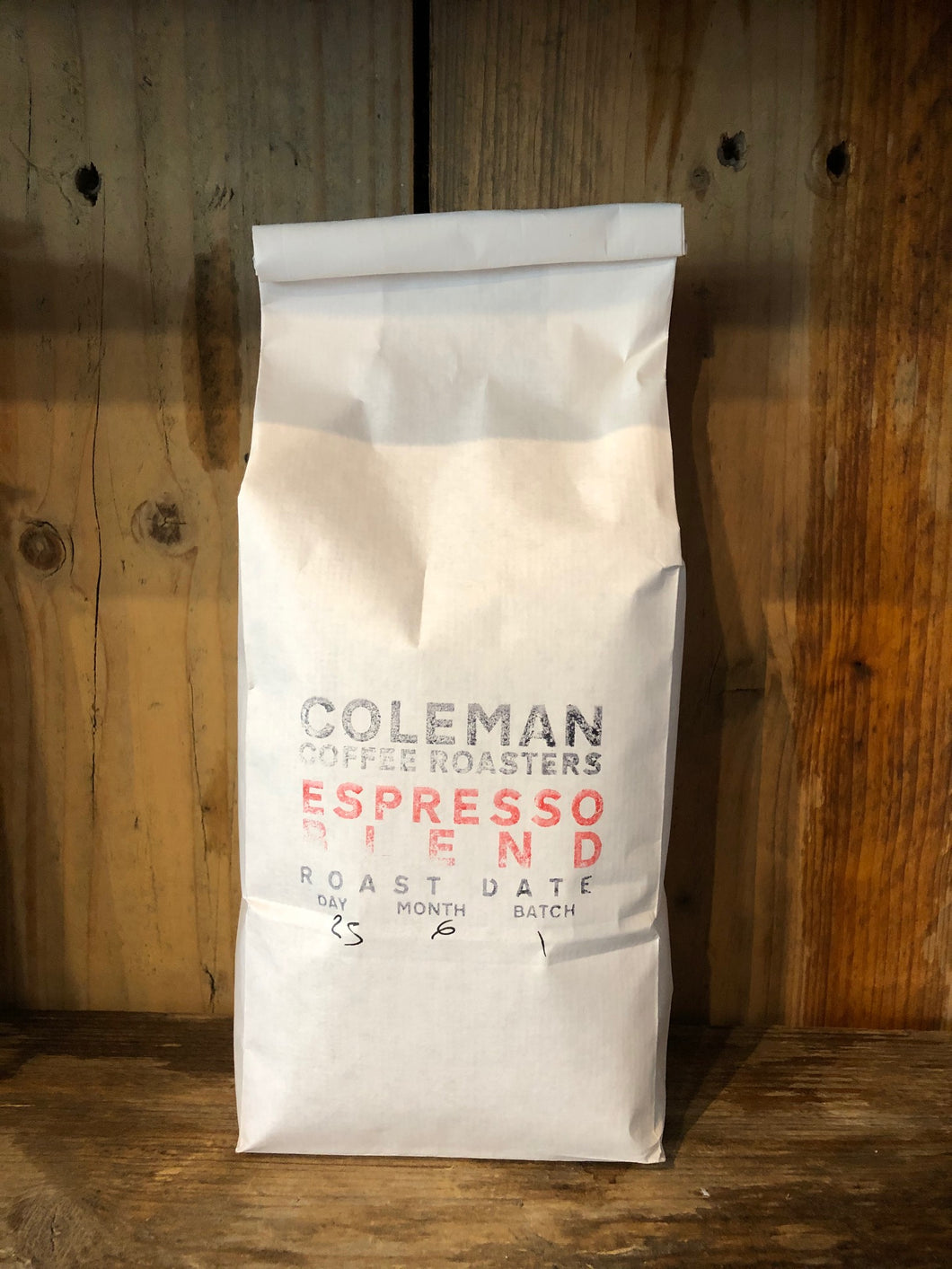 Coleman Coffee Roasters Espresso Blend Beans 1kg