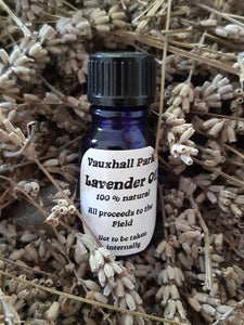 Vauxhall Park Lavender Oil 10ml