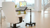 LEVO Rolling Laptop Workstation Stand