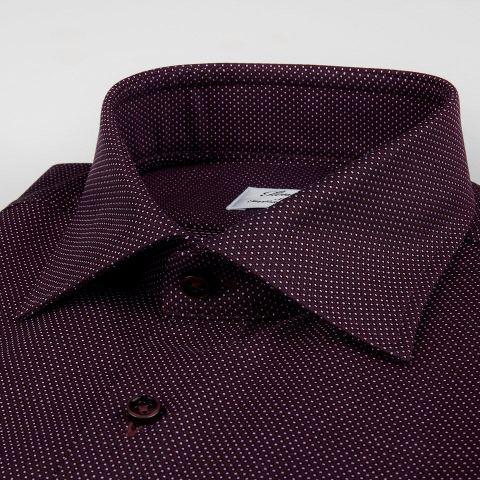 Burduny Dotted Dress Shirt