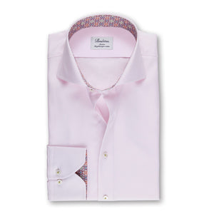 Stenstrom Pink Contrast Button - Mr. Derk Apparel Ltd.