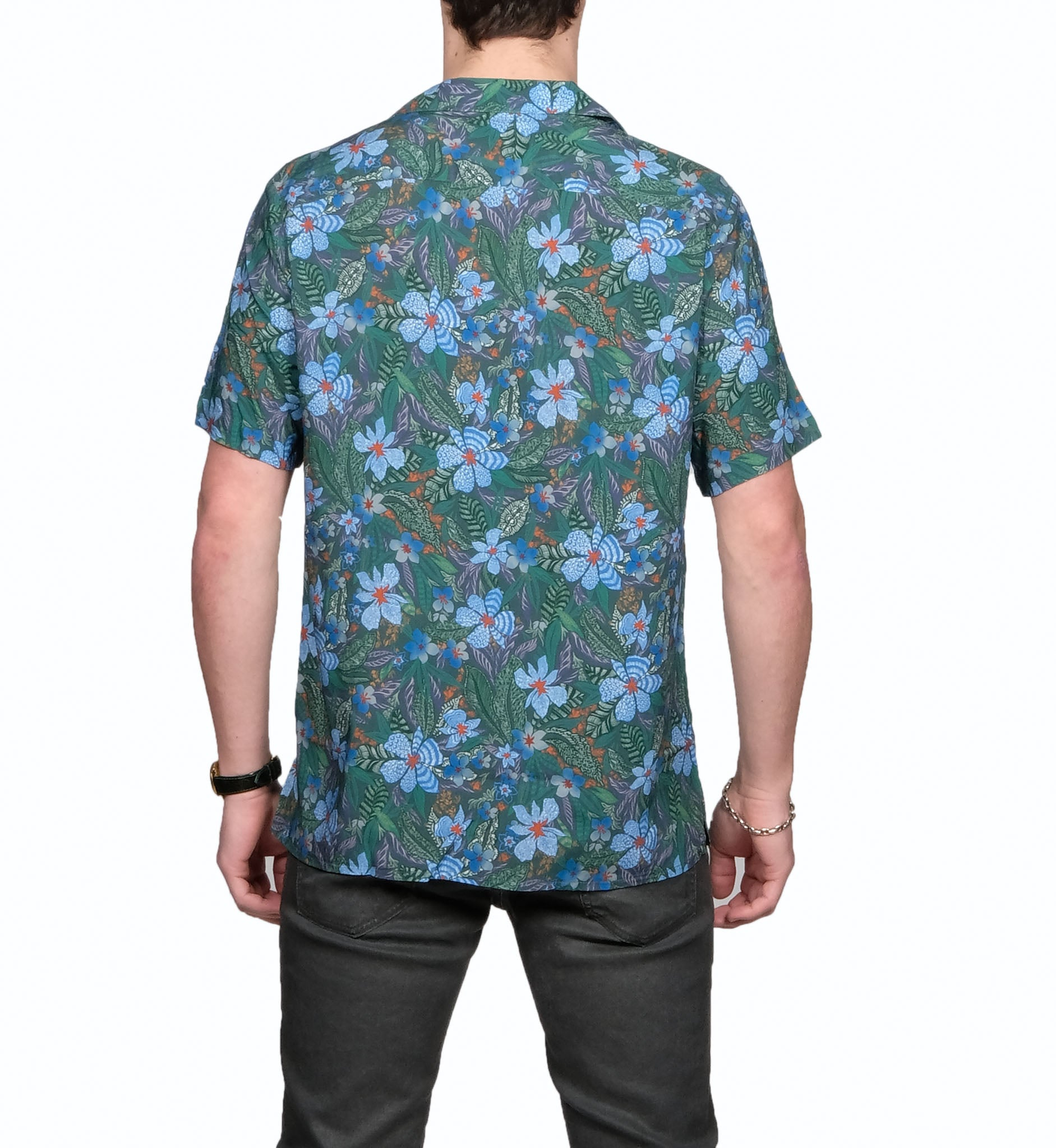 Flower Camp Collar Shirt - Mr. Derk Apparel Ltd.