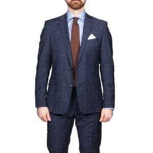 Strellson Checked Navy Suit - Mr. Derk Apparel Ltd.