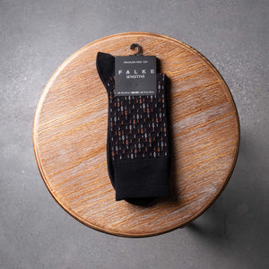 Black Sensitive Socks