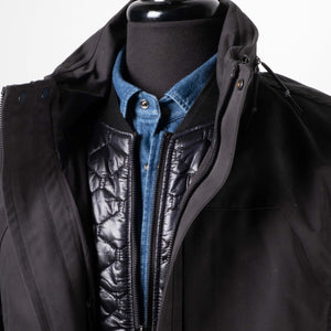 Black Layered Field Jacket