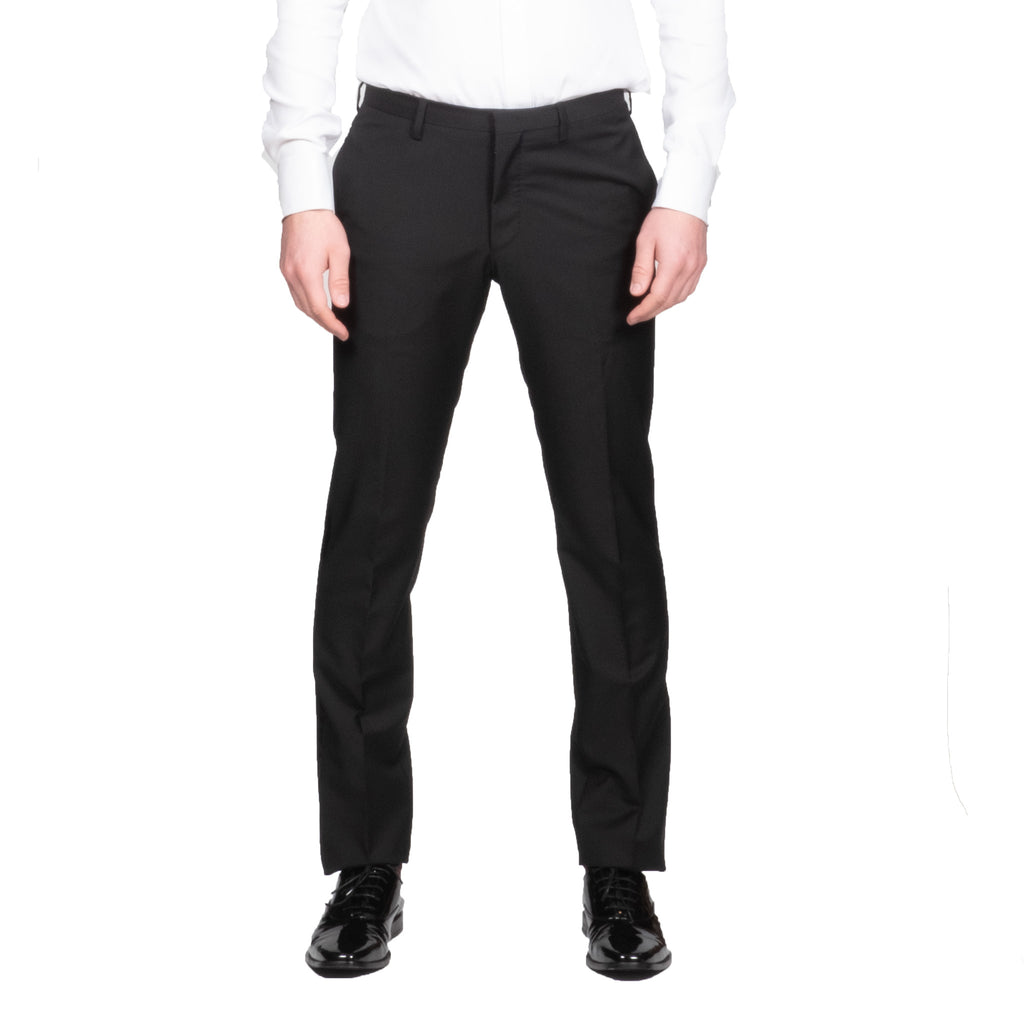 Thulin Black Tuxedo Pant - Mr. Derk Apparel Ltd.