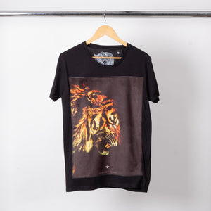 Black Tiger Patched Tee