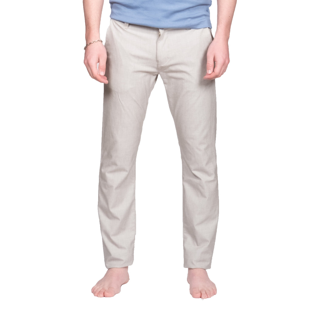 Verona Beige Chinos - Mr. Derk Apparel Ltd.