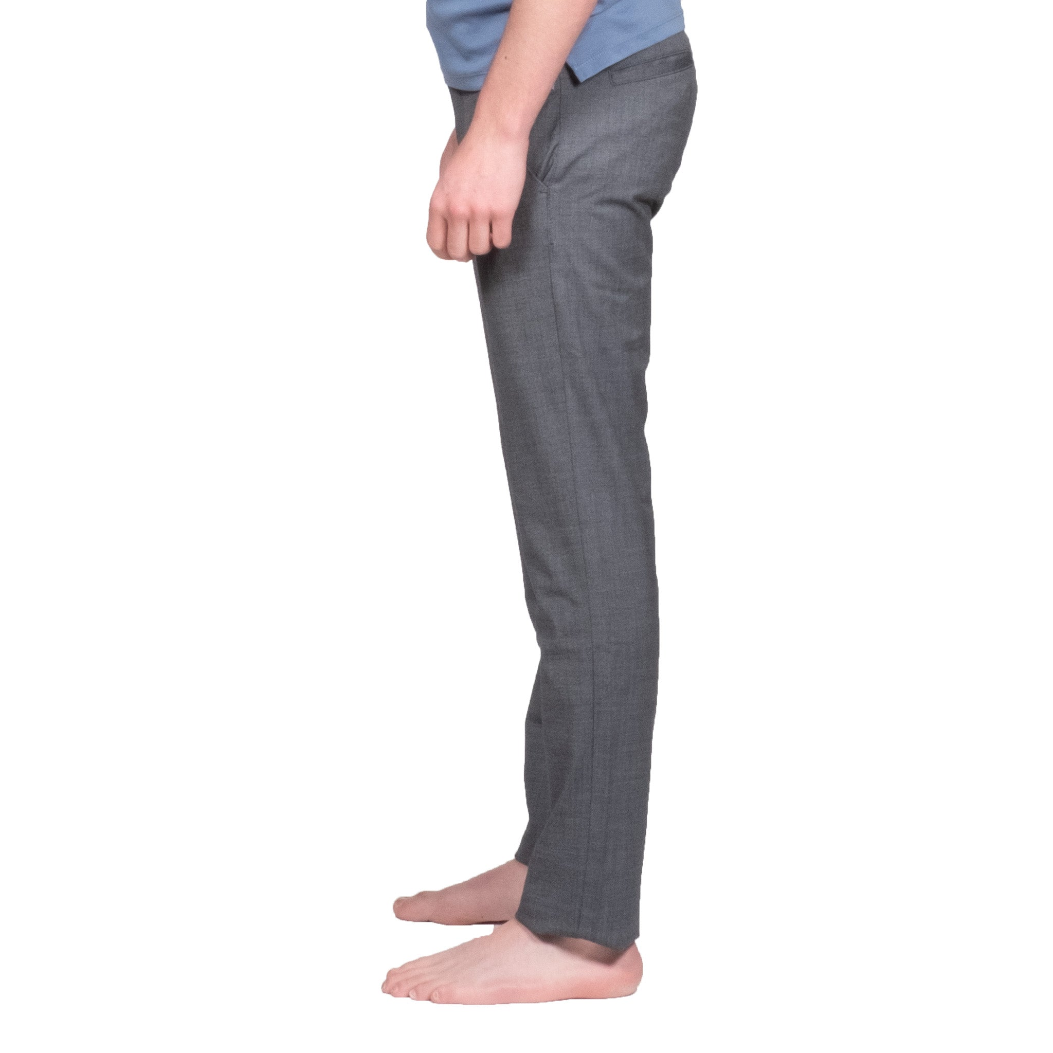 Verona Blue Chinos - Mr. Derk Apparel Ltd.