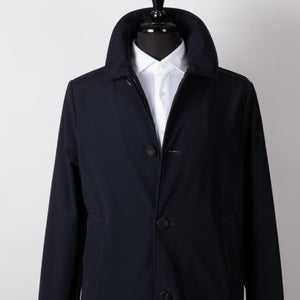 Navy Thermal Car Coat