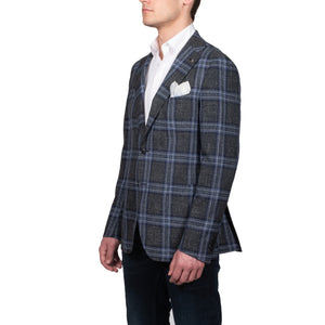 Green Check Blazer - Mr. Derk Apparel Ltd.