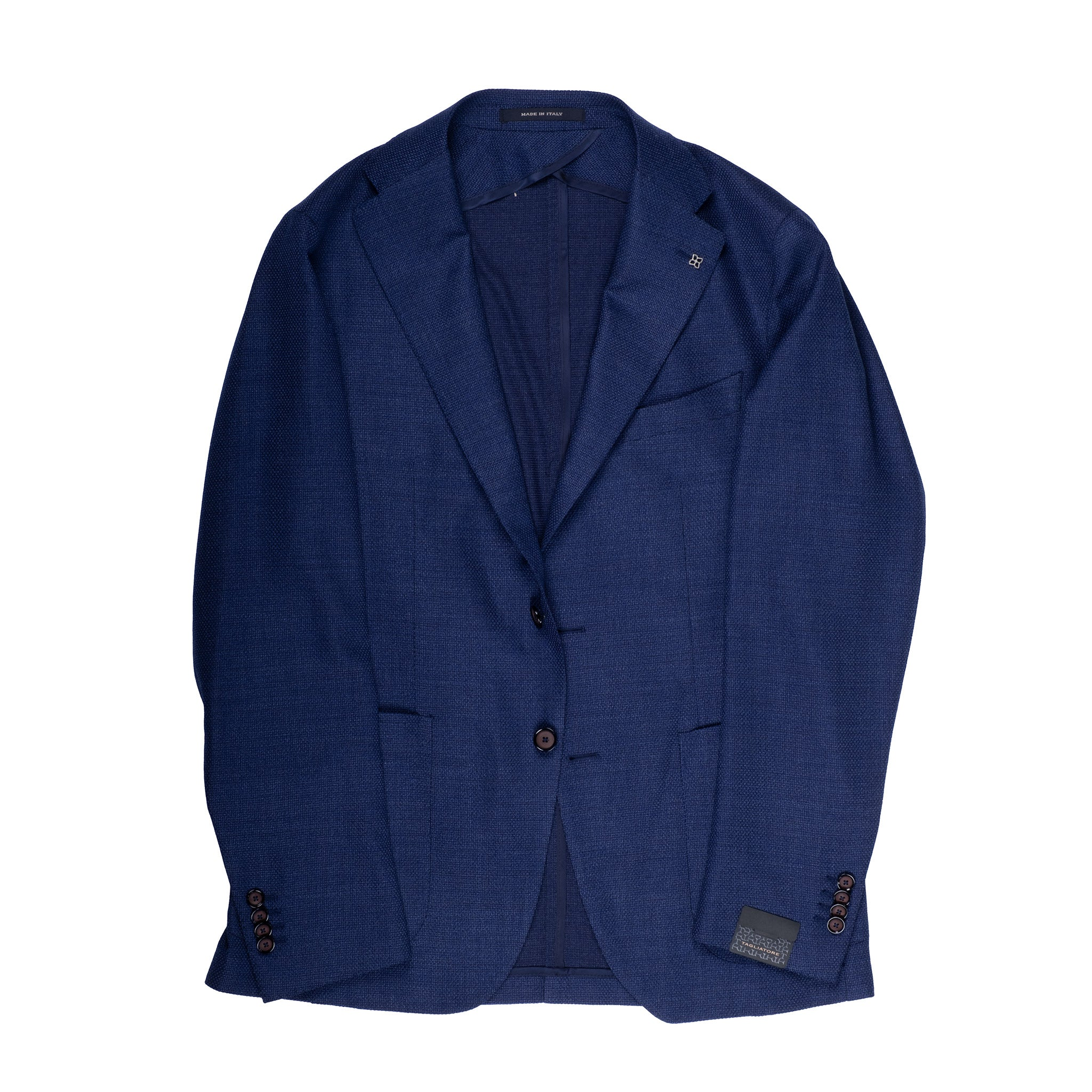 Blue Textured Blazer