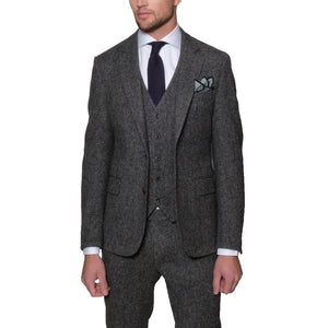 Harris Tweed Three Piece Suit - Mr. Derk Apparel Ltd.