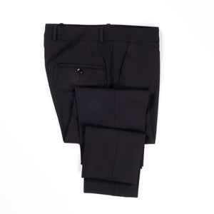 Navy  Fabio Stretch Trousers