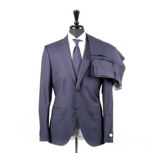 Navy Stripped Suit