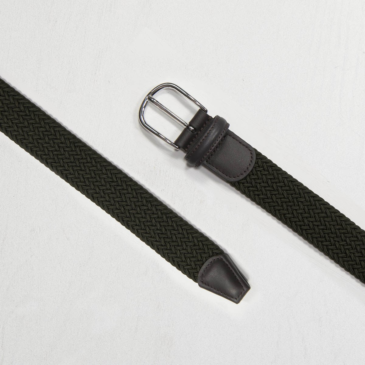 Green Nylon Woven Belt - Mr. Derk Apparel Ltd.