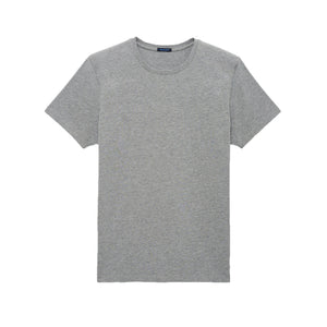 Pima Crew Light Grey Tee - Mr. Derk Apparel Ltd.
