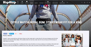 Hip Hop Weekly Features Royal Bum. Check out our article at the link below.