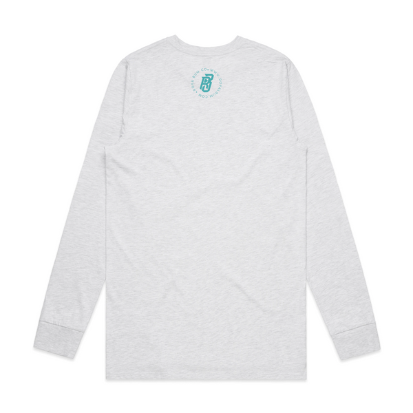 L/S Swamp Water Tee (Ash Heather)