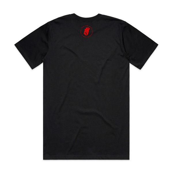 Chicago Red Tee (Black)