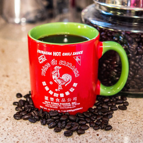 Sriracha Red Green Coffee Mug