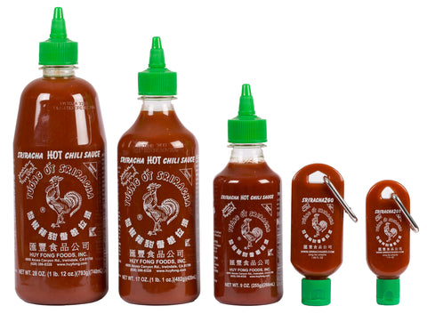 All Sriracha Size Bottles