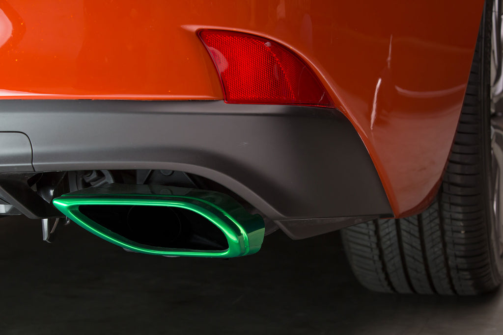 Sriracha Lexus IS Tailpipe Green