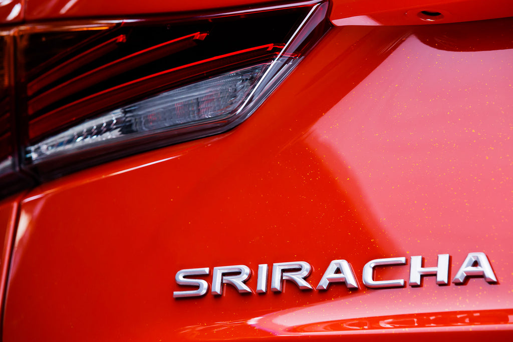 Lexus Sriracha IS Name Back