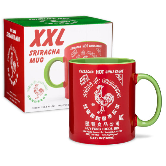 XXL Sriracha Mug (33.8 FL OZ / 1000ml)