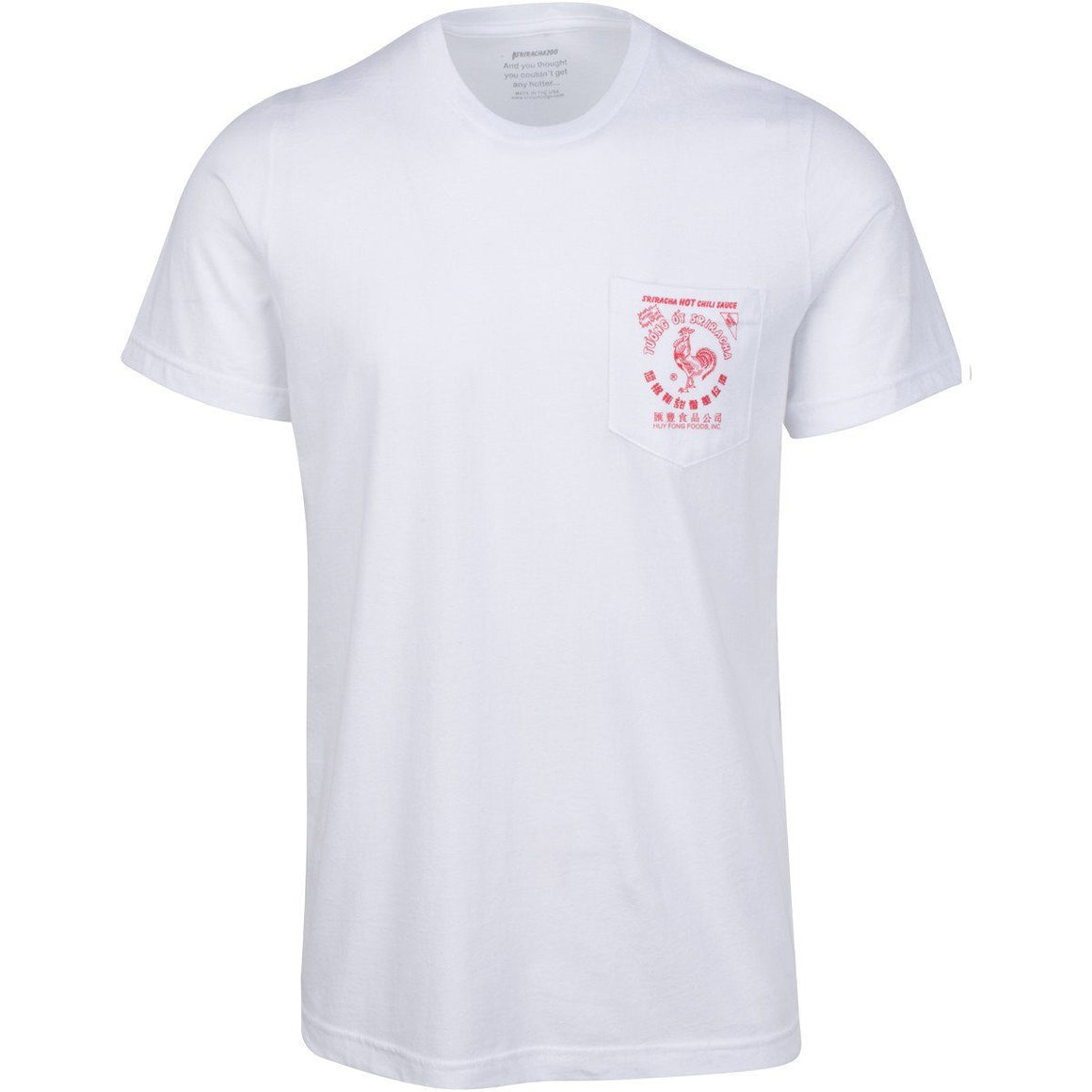 Apparel - Sriracha Pocket Tee
